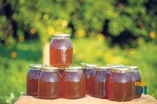 Tarros de miel de la Isla. SERGIO G. CAÑIZARES