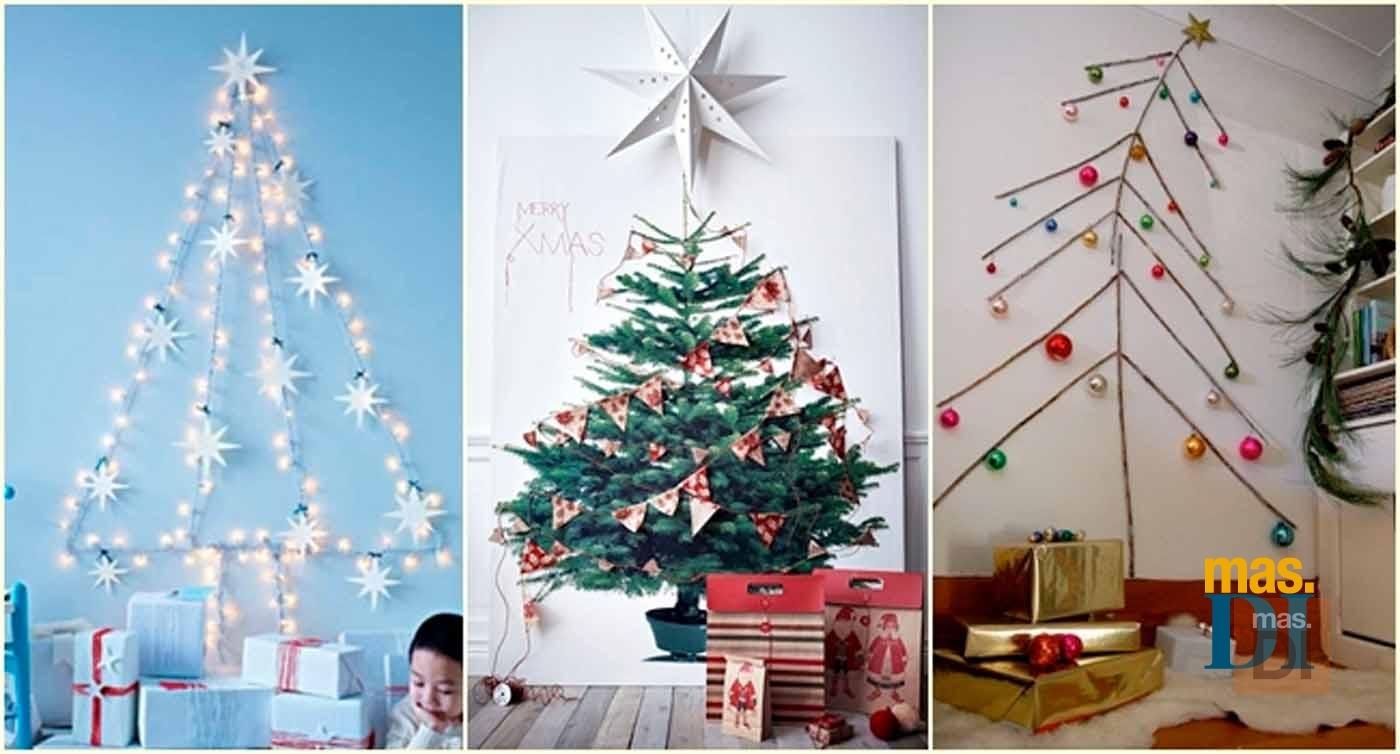 Rboles de navidad originales ideas para hacer en casa for Ideas originales para decorar en navidad