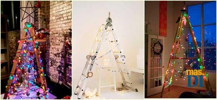 Árboles de Navidad originales: ideas para hacer en casa