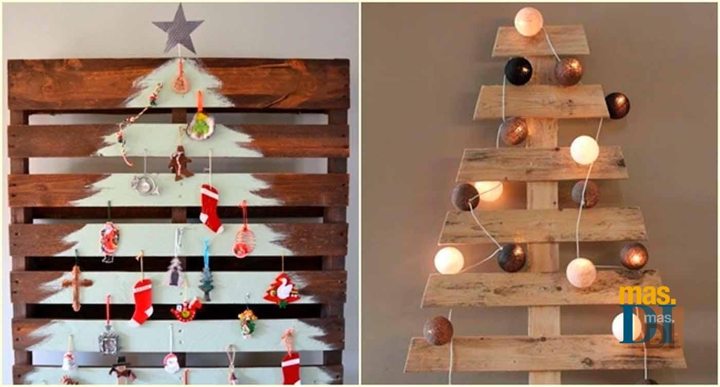 Rboles de navidad originales ideas para hacer en casa - Ideas originales para navidad ...
