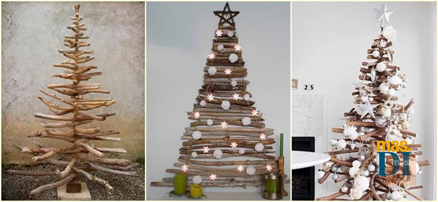 Arboles De Navidad Originales Ideas Para Hacer En Casa - Ideas-arboles-de-navidad