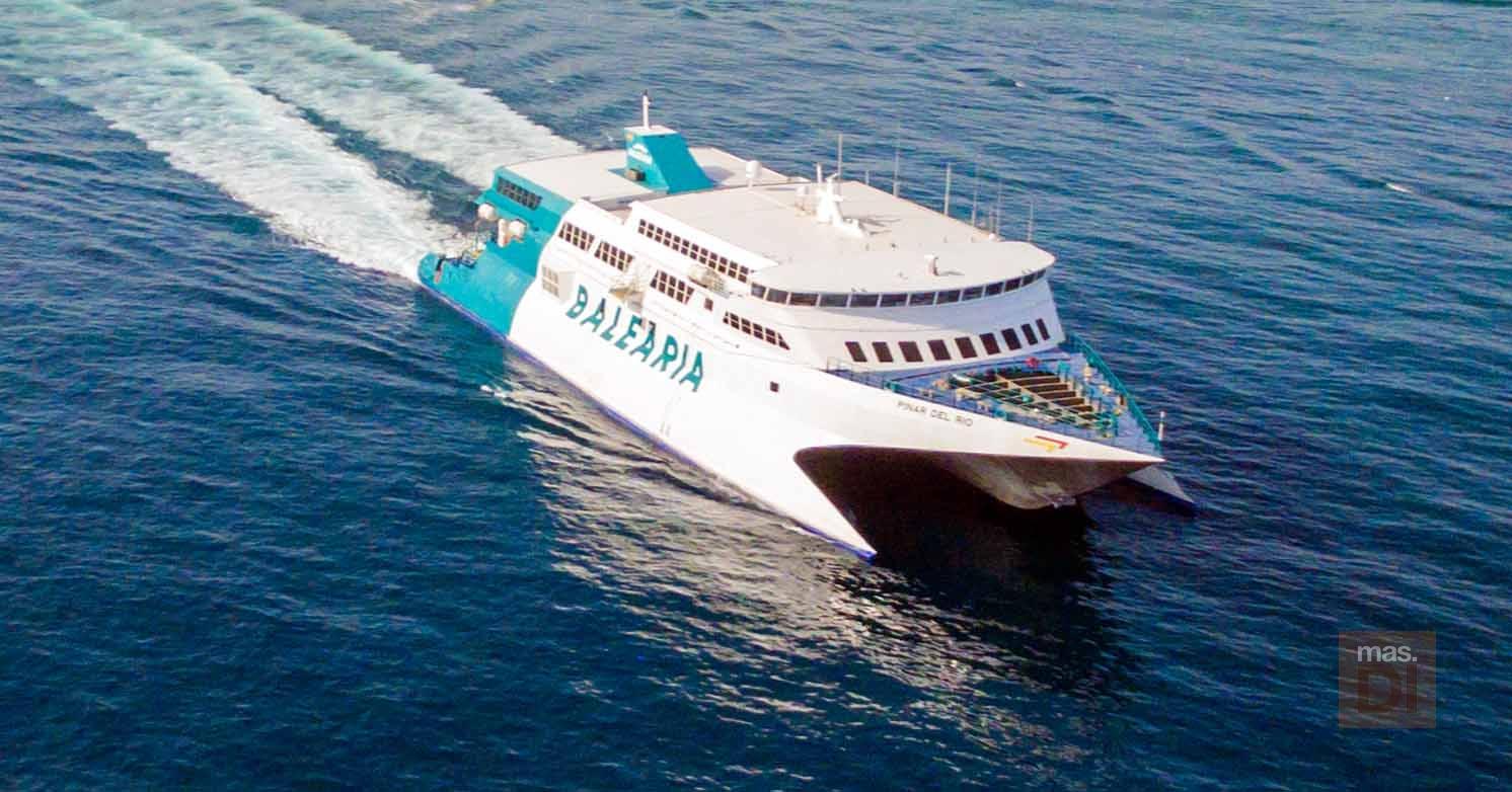 Bale ria m s servicios fast ferry para conectar ibiza y for Oficina balearia ibiza