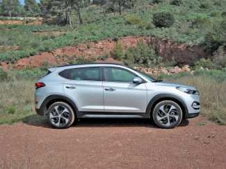 Hyundai Tucson, pasarela de tierra