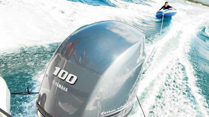 Náutica Ereso, motores Yamaha, fuerza y alto rendimiento