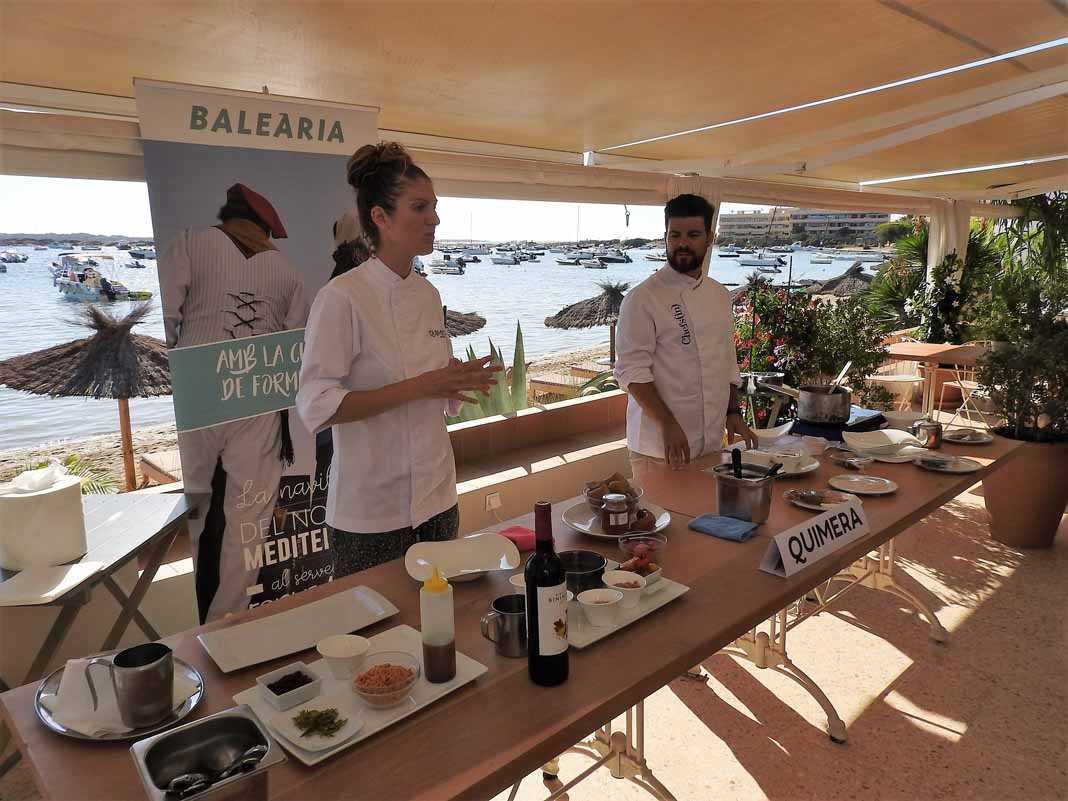 Baleària. Los \'Chefs(in)\' en Formentera | Gastronomía