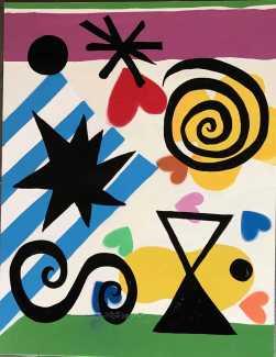 Elisabeth Ollé Curiel en Galería Jorge Alcolea, hasta el 14 de agosto.