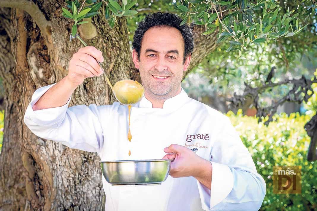 Fernando Sáenz, \'chef del frío\', helados que provocan sensaciones