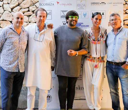 José Luis Benítez, Javier Moro, Wally López, Mireia Canalda y Lucas Prats.