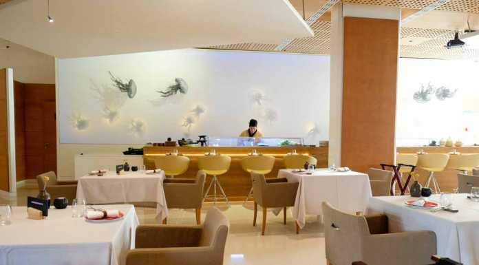 La Gaia Un espacio que fusiona la gastronomía y el arte con las medusas de Katrin Kirk como iconos de la sala
