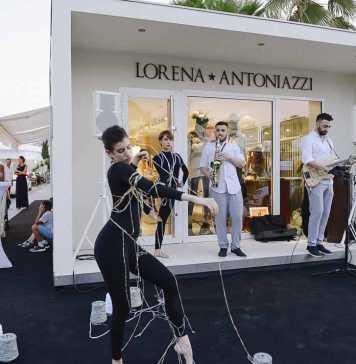 Un momento de la fiesta de inauguración de la tienda Lorena Antoniazzi