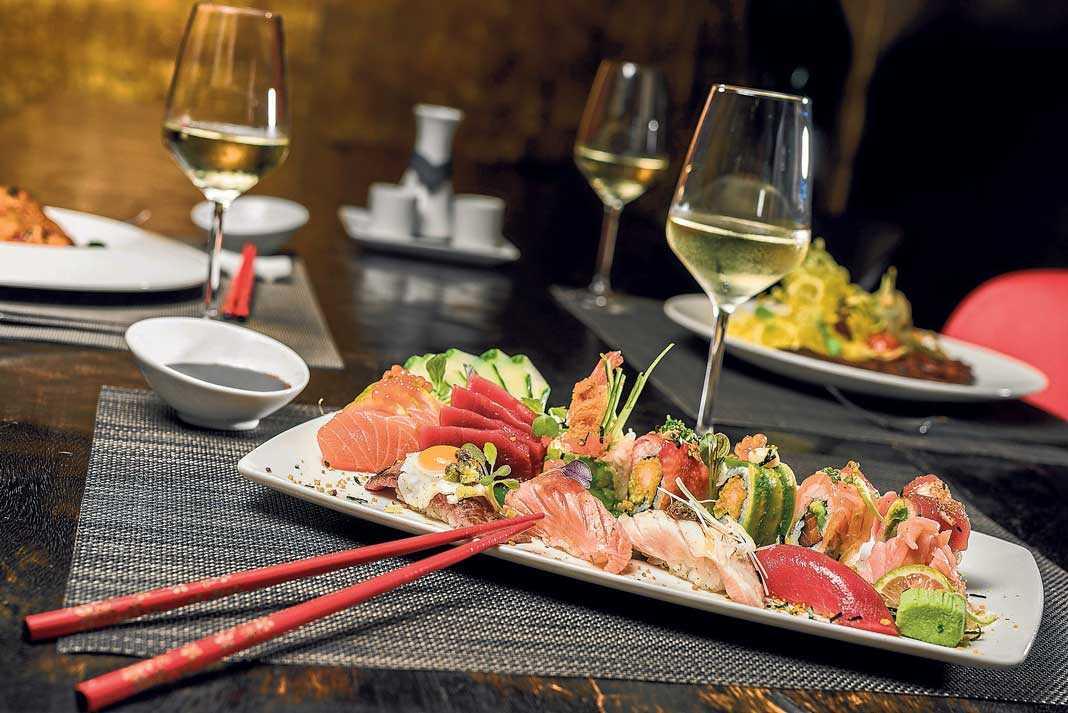 Minami Japanese Restaurant. Delicadeza al plato.
