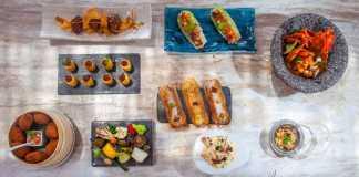 Destino Ibiza. Restaurante Modest. Las tapas gastronómicas que el chef Samuel Galdón propone todas las noches en Modest.