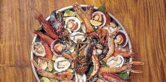 The Oyster & Caviar Bar. Los mejores productos del mar.