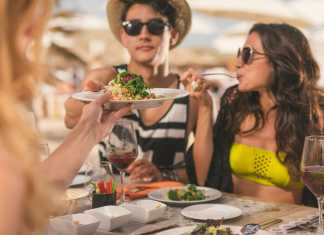 The Beach Club at Hard Rock Hotel Ibiza Gastronomia Mediterranea (4). gastronomía a pie de mar.