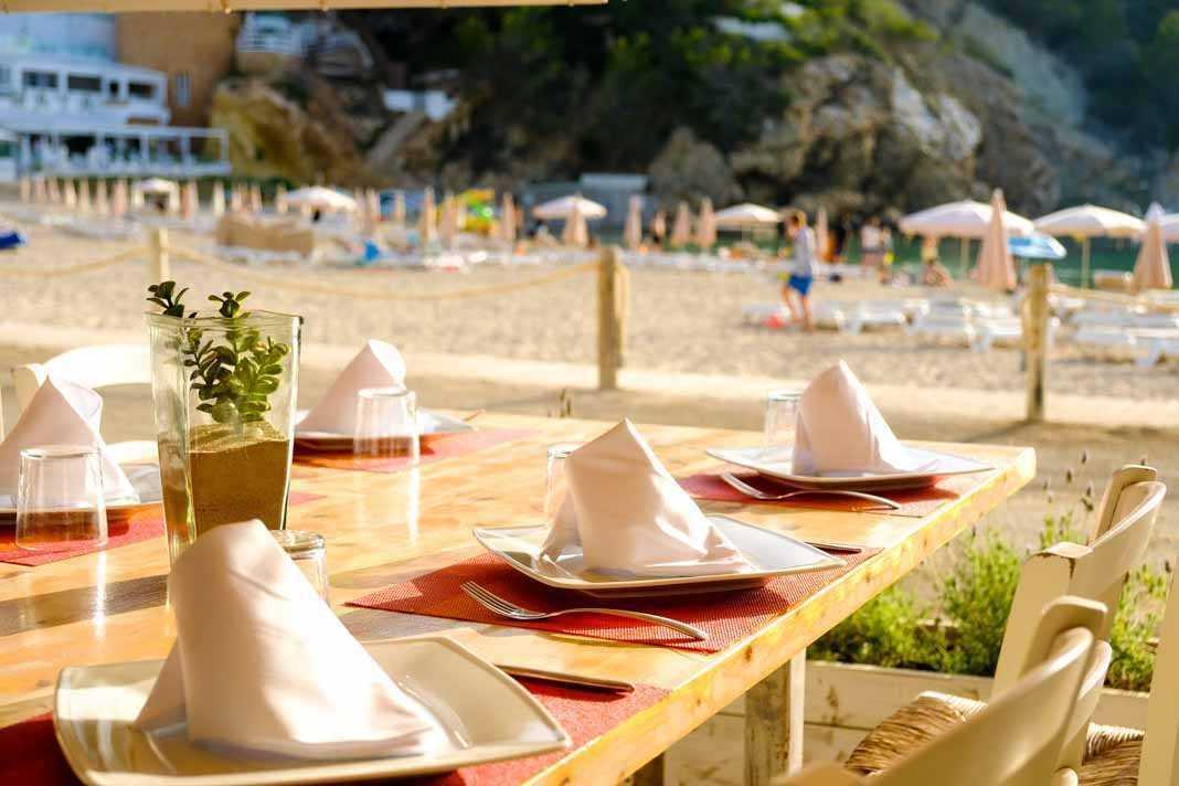 Restaurante Cana Sofia. Todo listo para empezar a disfrutar.
