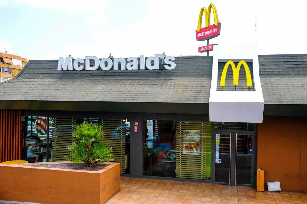 Fachada del McDonald's de ses Figueretes.