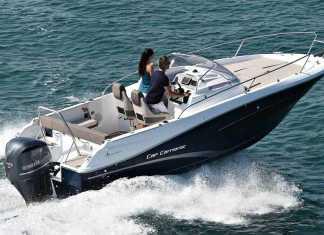 Náutica Ereso. El Cap Camarat 7.5, del astillero Jeanneau, admite motores Yamaha de 225, 250 y 300 Cv.