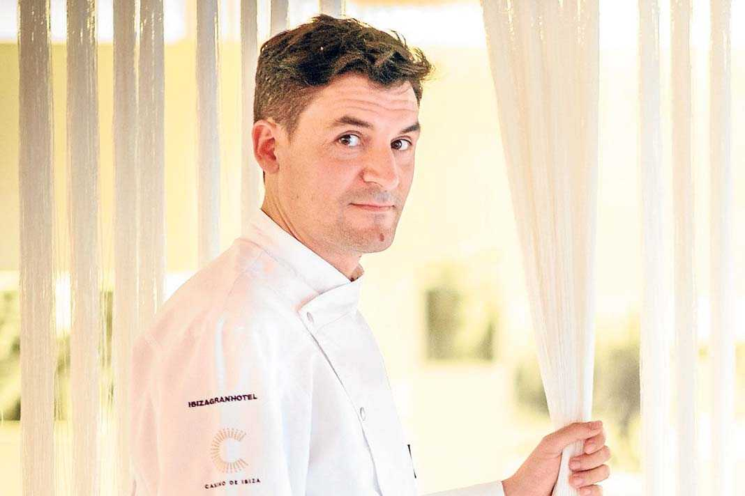Óscar Molina, chef del restaurante La Gaia