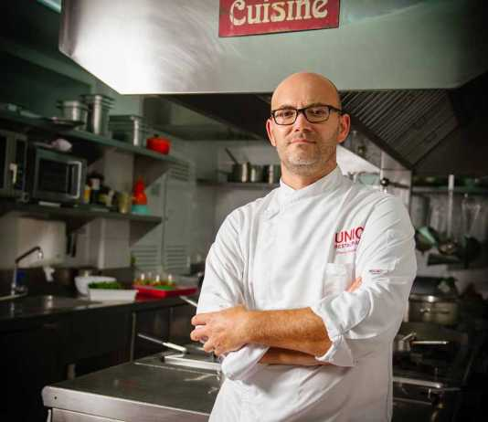 Restaurante Unic, David Grussaute, alma del restaurante.