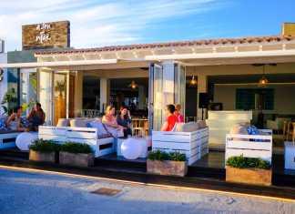 Restaurante A son de mar. Menú especial fuegos artificiales