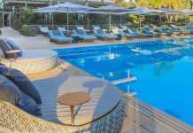 La nueva piscina de Aguas de Ibiza Lifestyle & Spa.