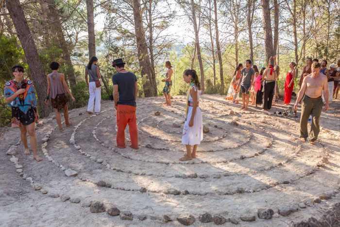 El espíritu de la paz invade Ibiza en la reunión mundial de chamanes