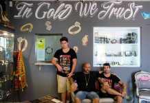 El equipo de Pawn Shop Ibiza está liderado por Alberto Maldonado, en el centro.