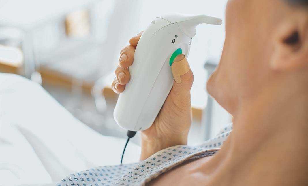 Dolor agudo postoperatorio, El paciente puede administrarse comprimidos sublinguales cuando sienta dolor.