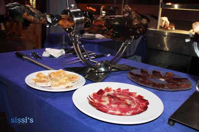 Rte. Asador Sissi's Carnes, sabores mediterráneos y el mejor jamón 5J