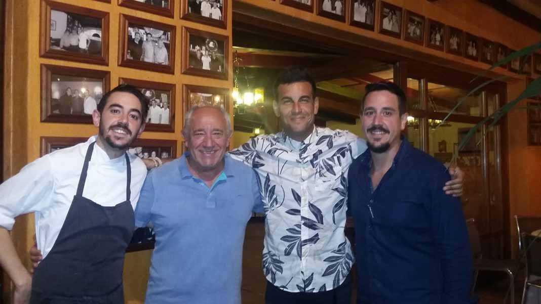 Restaurante Caminito. Famosos como Mario Casas son clientes habituales.