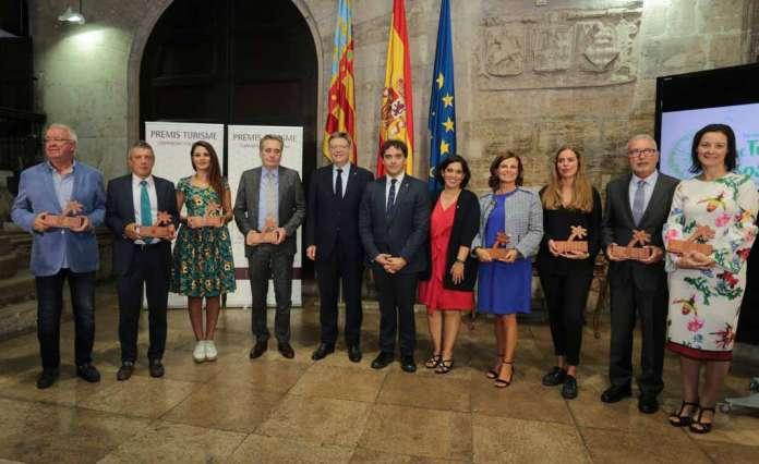 Fundació Baleària recibe el premio Turisme Comunitat Valenciana