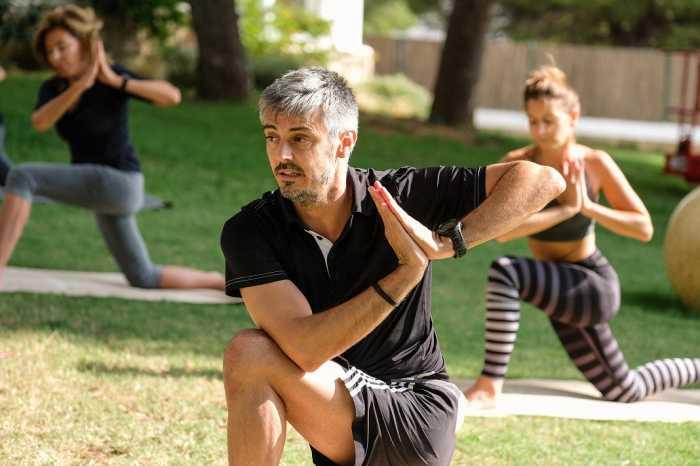 Fernando Escudero, el instructor de yoga en Destino Ibiza.