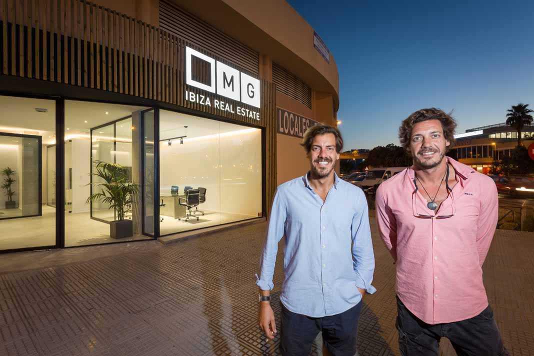 Alejandro y Lorenzo Gámiz, gerentes de MGIbiza Real Estate. VICENT MARÍ