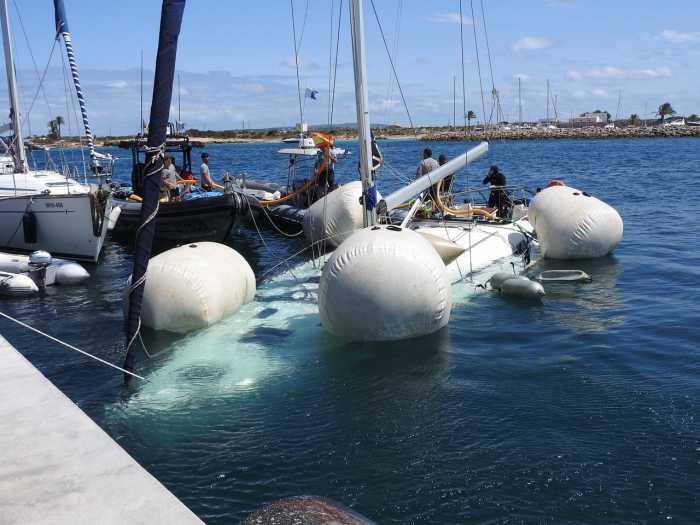 Serveis Maritims Eivisub. Trabajadores bajo el mar