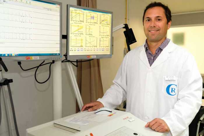 El Dr. Gaido es cardiólogo en la Policlínica Nuestra Señora del Rosario.