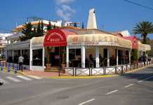 Restaurante Bon Lloc. El punto de encuentro de los residentes ibicencos en el centro de Jesús.
