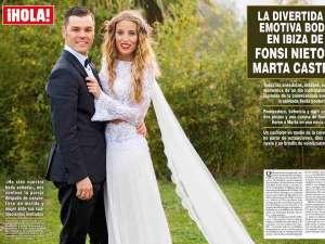 La exclusiva boda de Fonsi