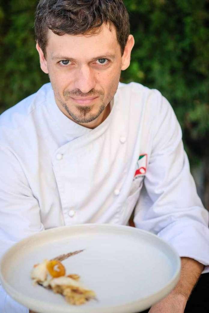 Restaurante Hotel Pacha. Chef Inigo Rodriguez