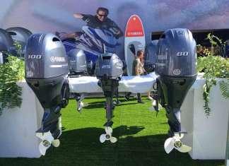 El Salón Náutico de Barcelona permitió observar y probar en algunas embarcaciones los distintos motores Yamaha. Ereso
