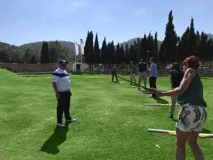 Clases dirigidas por los profesores de Golf Ibiza.