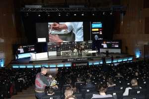 Auditorio del Palacio de Congresos de Madrid donde se celebran las ponencias.