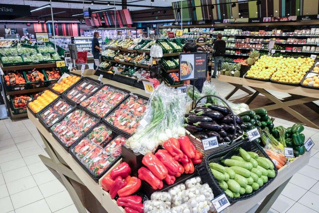 Los productos frescos ganan importancia en la cesta de la compra de los españoles. foto: sergio g. cañizares Consejos para la compra