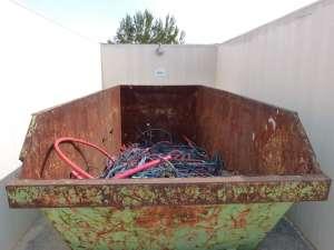 La compañía prioriza el reciclaje y la valoración de los residuos generados. fotos: Endesa