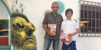El ganador del I Premio Internacional de Cuento Las Dalias fue Gonzalo Calcedo. fotos: las dalias II Edición del Premio Internacional de Cuento Las Dalias