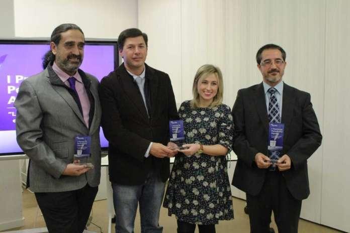 Imagen de la primera edición. Premio Aqualia de Periodismo