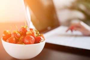 Ahora es temporada de fresas.
