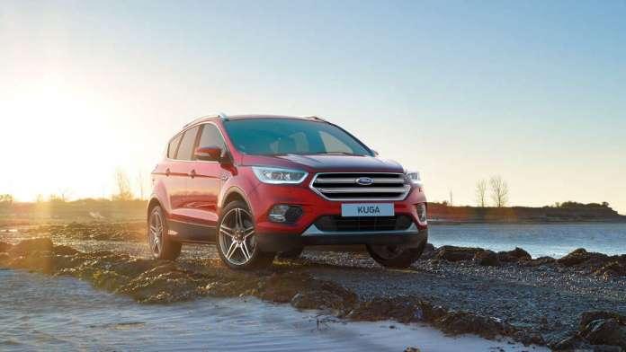 Ford Kuga, resistente en cualquier terreno. Fotos: Ford