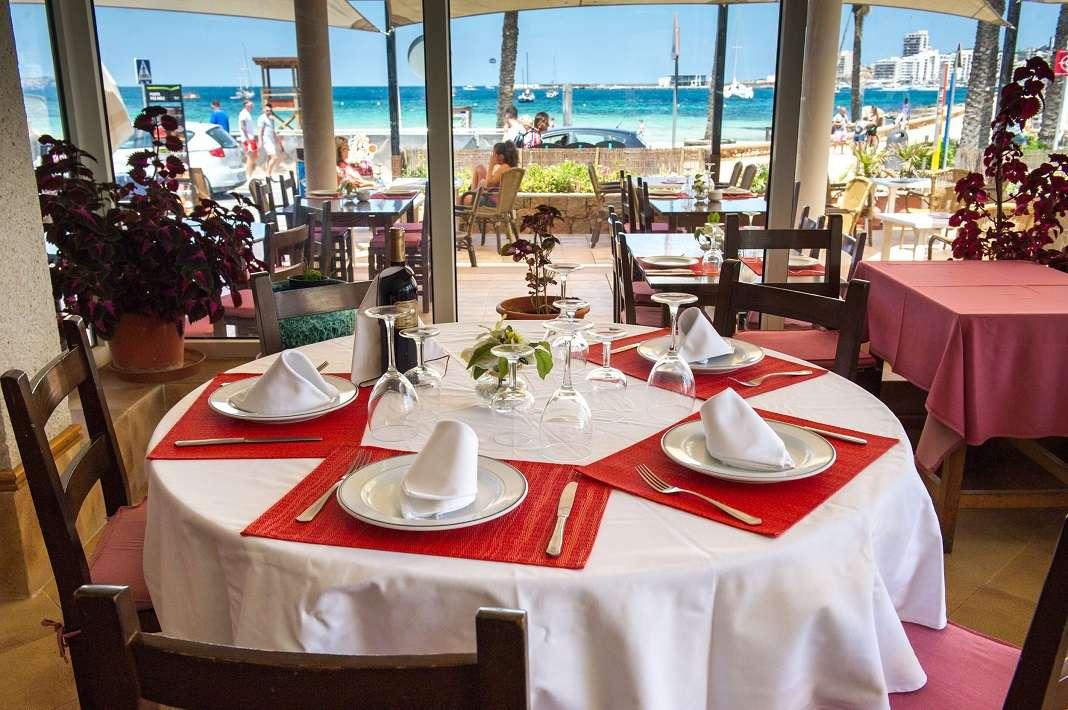 Restaurante Sa Punta des Molí, en Sant Antoni. Foto: Sergio G. Cañizares
