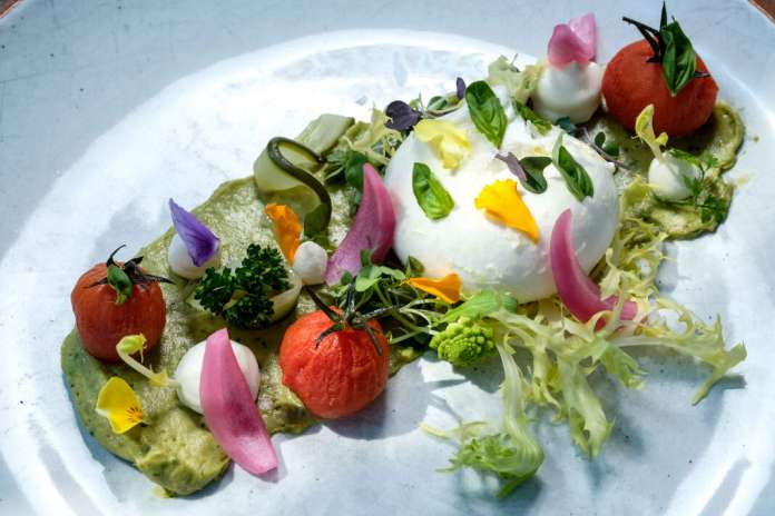 Creatividad del chef Damián Buonuomo. fotos: sergio g. cañizares All Ibiza
