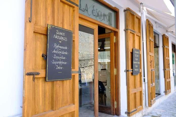 Restaurante La Esquina. Foto: Sergio G. Cañizares Restaurantes en Ibiza